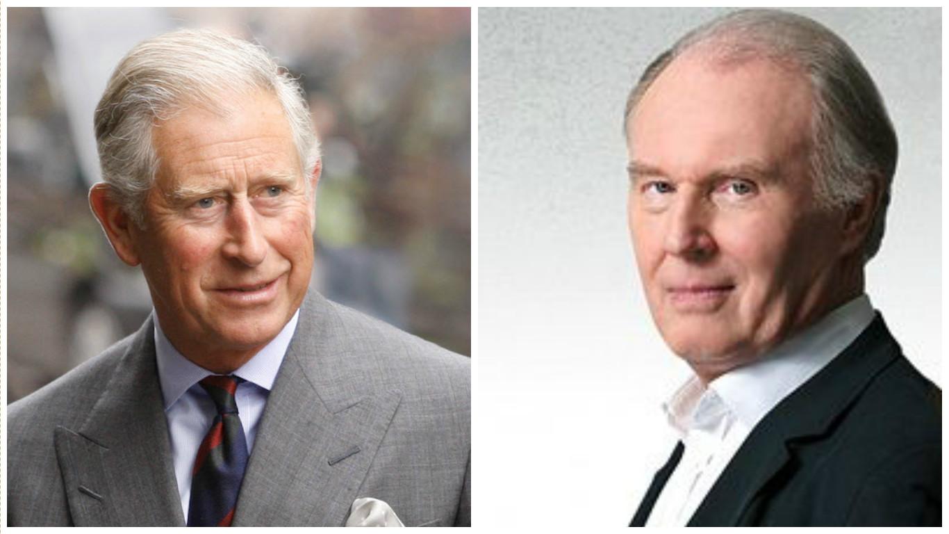 принц Чарльз  и  Тим Пиготт-Смит